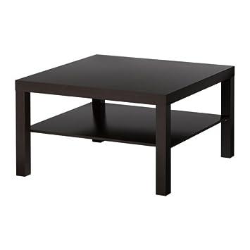 Couchtisch ikea lack  IKEA LACK -Couchtisch schwarz-braun - 78x78 cm: Amazon.de: Küche ...