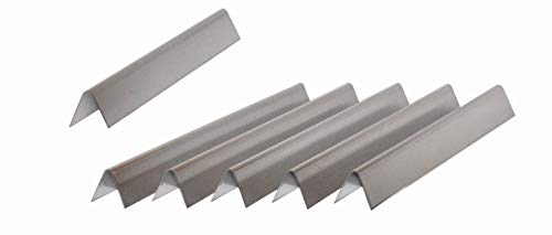 Weber 65935 5PK SS Flavorizer Bars for some Genesis E & S Series Grills ()