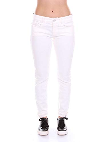 Cotone Bianco Jeans Dondup Donna P692bs018dvptd nxqwRXx8pF