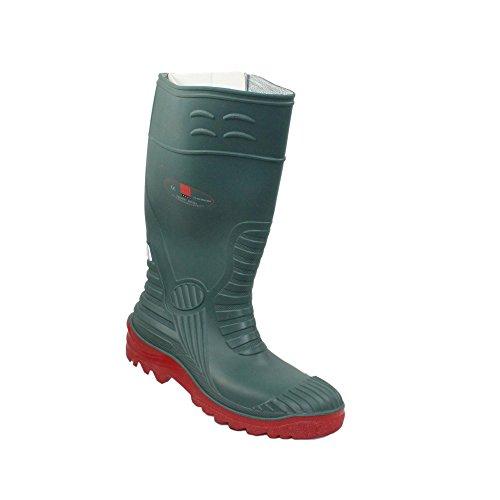 Ergos - Calzado de protección de Piel para hombre Verde verde, Verde - verde, 35 EU