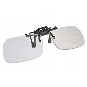 e44813b1d0 Amazon.com  +2.0 Clip On   Flip Up Small Clear Magnifying Reading ...