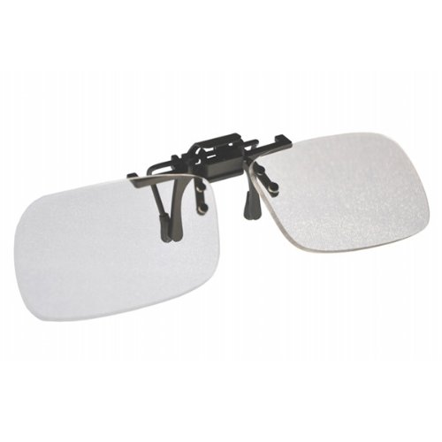 Magnifying Aids +2.25 Clip On & Flip Up Small Clear Magni...