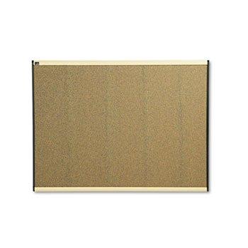 - Quartet B244MA Cork Bulletin Board, 4'x3', Maple Finish