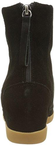 Negro Mujer Fur Shoe Bear Cortas para Emmy The Botas qq0xw87B