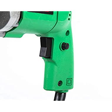 KHADIJA Powerful Simple Electric Drill Machine 10mm With Free 13Pcs HSS Drill Bits & 1Pc Masonary Bit Combo 8