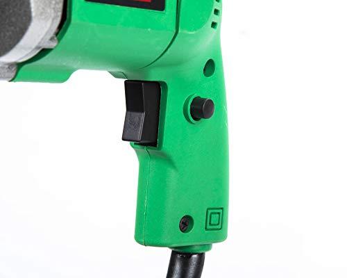 KHADIJA Powerful Simple Electric Drill Machine 10mm With Free 13Pcs HSS Drill Bits & 1Pc Masonary Bit Combo 3