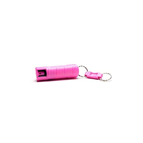 Pepper Fox Spray (Fox Labs -11G 2% OC-Uv Key Chain (Hard Shell) - 11K-PK -11G 2% OC-Uv Key Chain (Hard Shell) - Pink)