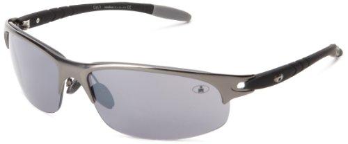 Ironman Tolerance Semi-Rimless Sunglasses,Satin Gunmetal,147 - Ironman Sunglasses Polarized