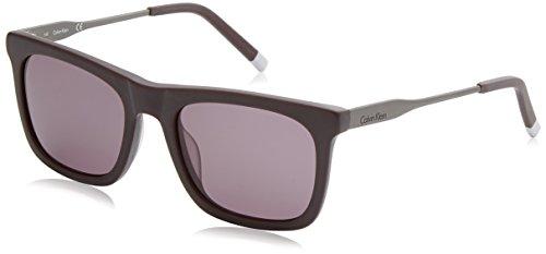 Calvin Klein Plastic Frame Dark Grey Lens Men's Sunglasses (Calvin Klein Plastic Frames)