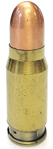 Eclipse Collectible Novelty Round Bullet Style Windproof Refillable Lighter, 1462