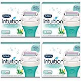 (NEW Schick Intuition Sensitive Care Moisturizing Razor Blade Refills for Women with Natural Aloe 12 Count)