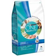 Purina One Cat Dry SmartBlend Adult Vibrant Maturity 7+ Cat
