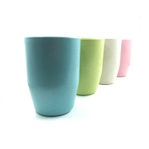 Bathroom Tumbler Cup - Unbreakable Cups for Kids Bathroom Cup Tumbler with BPA Free Set of 4 Multicolor Drinking Cups