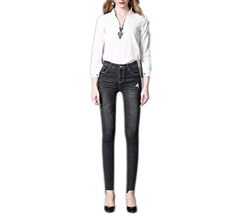 Donna Donna Nero Nero Lazutom Lazutom Donna Jeans Jeans Lazutom Jeans 8qEUx1qO