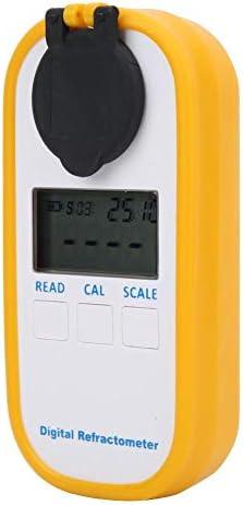 フルーツシュガー濃度テスター、IP65防水、耐衝撃性材料、デジタルディスプレイTDS/ブリックスメーターテスター、家庭用およびドリンクショップでテスト(メーター)