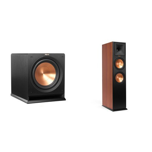 Price comparison product image Klipsch Cherry RP280F Floorstanding Speaker Pair and R112SW Subwoofer Bundle
