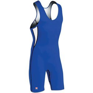 Brute Lycra Wrestling Singlet (Brute Rogue AVT Wrestling Singlet - SIZE: Small, COLOR: Royal/White [Misc.])