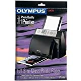 Olympus A4 Standard Gloss Photo Paper for P-400 (25-Sheets), Office Central