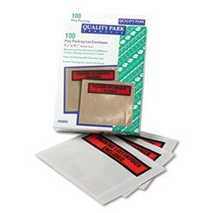 -- Top-Print Self-Adhesive Packing List Envelope, 5 1/2