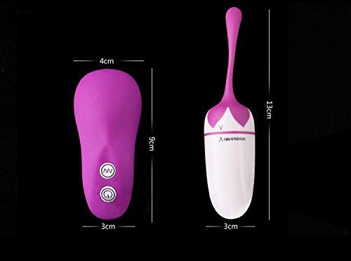 Fanxy(TM) Wireless Mini Bullet Remote Control Vibrating Love Egg Jump Egg 20 Speeds Wireless Vibrator G-spot Stimulator Orgasm Vibrator Finger Vibe Personal Massager Vibration Bullet Sex Adult Products Toys for Woman (PURPLE)