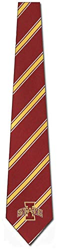 "Iowa State Cyclones NCAA""Woven Poly 1"" Mens Tie"