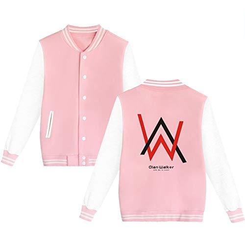 Unisexe Confortable Polaire Gogofuture Hommes Walker Fashion Sweat Femmes De Baseball Alan shirts Veste Pink03 Décontractée z44xdnw