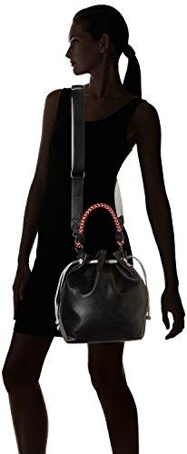 Noir epaule porte Sac femme BICOL Lollipops BUCKET BLACK Y6BF8