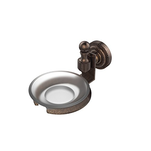 Allied Brass RD-32-VB Retro-Dot Collection Wall Mounted Soap Dish Venetian Bronze
