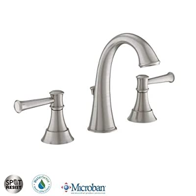 Moen 84778 Double Handle Widespread Bathroom Faucet from the Ashville Collection,