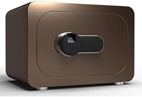 パーツボックス 安全なスマート指紋ロック解除ホームベッドルームミニ40センチメートルロッカーオフィス盗難防止見えないセーフティボックスクリスマスのギフト (Color : A, Size : 40*30*28cm)