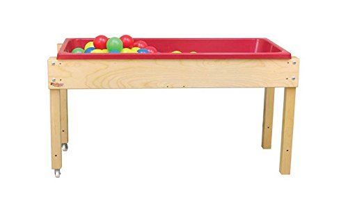Wood Designs WD11850 Sand and Water Table without Lid, 24 x 46 x 17'' (H x W x D)