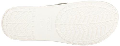 Crocs Citilane Flip Pwh/Whi, Pantuflas Unisex Adulto Bianco (Pearl White/White)