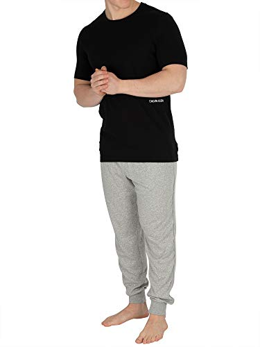 nero Calvin T shirt 001 Nero Klein Homme qfq0wxFn
