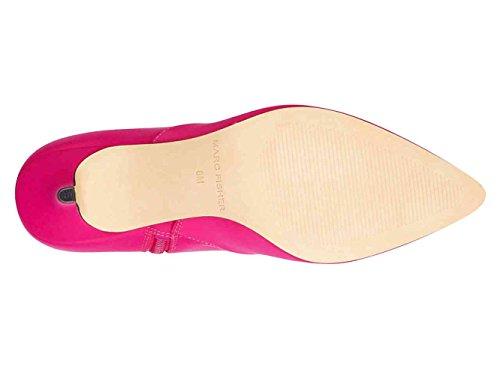 Aguzza Della In Adia2 Med Moda Delle Caviglia Donne Tessuto Stivali Marc Fisher Punta Rosa Alla Gli Pizzo twXqOFP