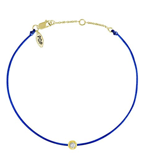 Diamond Com Yellow Gold Bracelets - 1