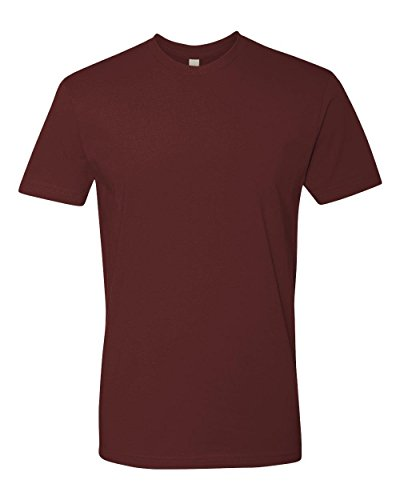 Next Level Mens Premium Fitted Short-Sleeve Crew T-Shirt - Large - (Fitted Crew Shirt)