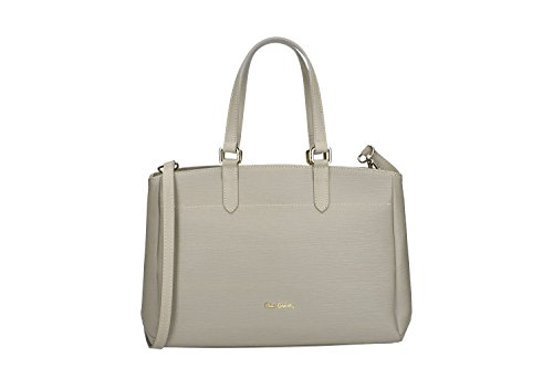 Pam Shop Bag Donna Con Tracolla Pierre Cardin In Pelle Fango Made In Italy Vn112
