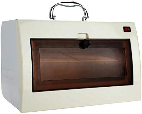 タオルウォーマー 消毒ボックス UV オゾン滅菌キャビネット ネイルツール用 タオルおよびホットハサミ用美容滅菌装置美容院 (1)