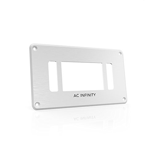 AC Infinity White Controller Frame, Replacement Mounting Frame for CONTROLLER 2 and 8