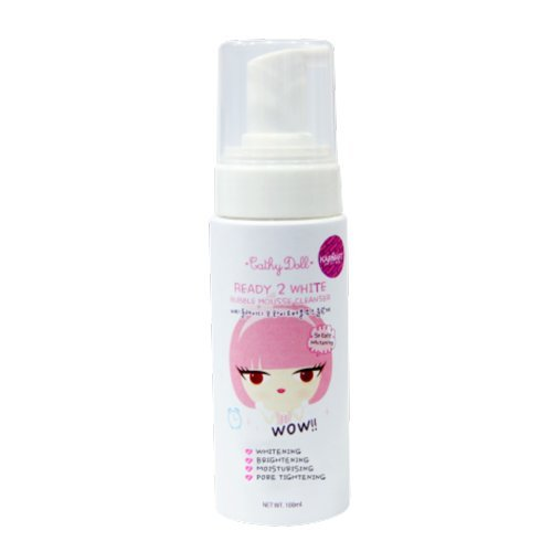 (Bubble Mousse Cleanser 100ml. Cathy Doll Ready 2 White)