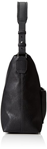 Calvin Klein JeansLANA HOBO - bolsa de medio lado Mujer Negro - Schwarz (BLACK 001 001)