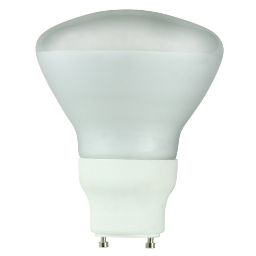 Halco 46538 - CFL15/27/R30/GU24 Flood Twist and Lock Base Compact Fluorescent Light Bulb ()
