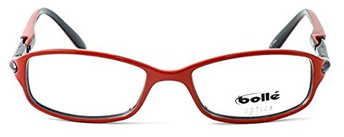 Boll/é Elysee Lightweight /& Comfortable Designer Reading Glasses 50mm in Opaque Red 5.00