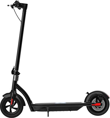 Hover-1 Alpha Electric Kick Scooter Foldable and Portable with 10 inch Air-Filled Tires- Long Range Commuter Scooter 450W Motor
