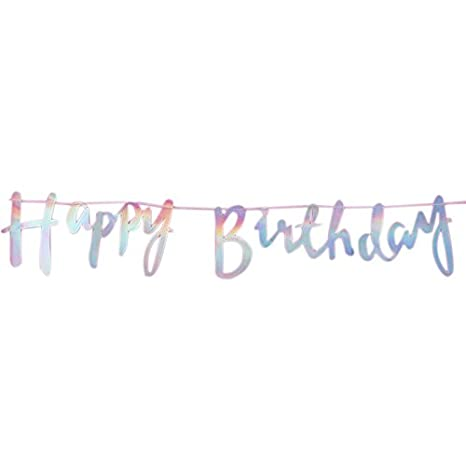 Amazon.com: SODIAL- Pancarta de papel para cumpleaños ...