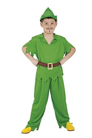 Disfraz Peter Pan Talla S: Amazon.es: Juguetes y juegos