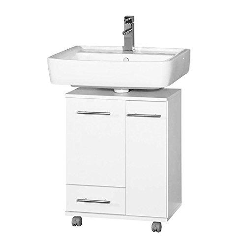 Schildmeyer 114669 Waschbeckenunterschrank, 50 X 63,5 X 32,5 Cm, Weiß:  Amazon.de: Küche U0026 Haushalt