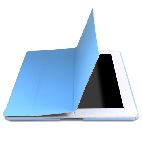 iPad Case, Slim-Fit Folio Cover Back for iPad 3 / iPad 0217
