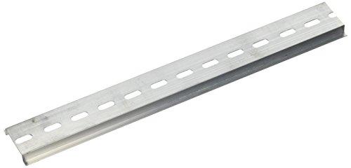 uxcell a14101400ux069935mm ancho con ranuras Diseño Aluminio Carril DIN 250mm (4piezas)