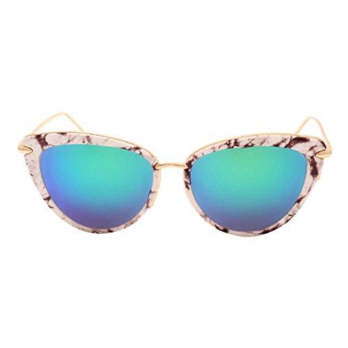 Aoligei Couples de couleur vive lunettes de soleil voyage de rue Photo Tide gens lunettes de soleil lunettes de style B1k0J7LB2
